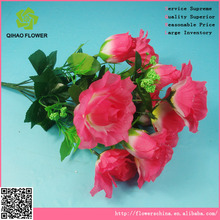 Rosa Artificial guirnaldas de venta al por mayor de múltiples - ramas rosa para el nuevo - pareja casada