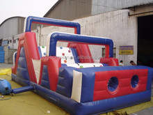 giant inflatable obstacle course backyard rock climbing wall funny game