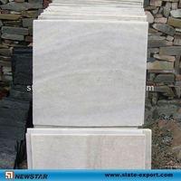 chinese white quartz natural slate