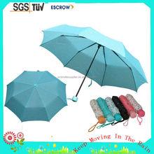 Bottom price promotional fold beach umbrella shenzhen