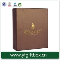 Luxury 100% quality paper cardboard whisky wine bottle packaging box alibaba China trade assurance supplier OEM wholesale