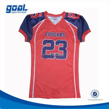 High quality university custom made american football jersey uniforms
