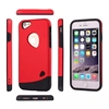 LZB Lastest Silicone tpu Back Armor Cover case for iphone6