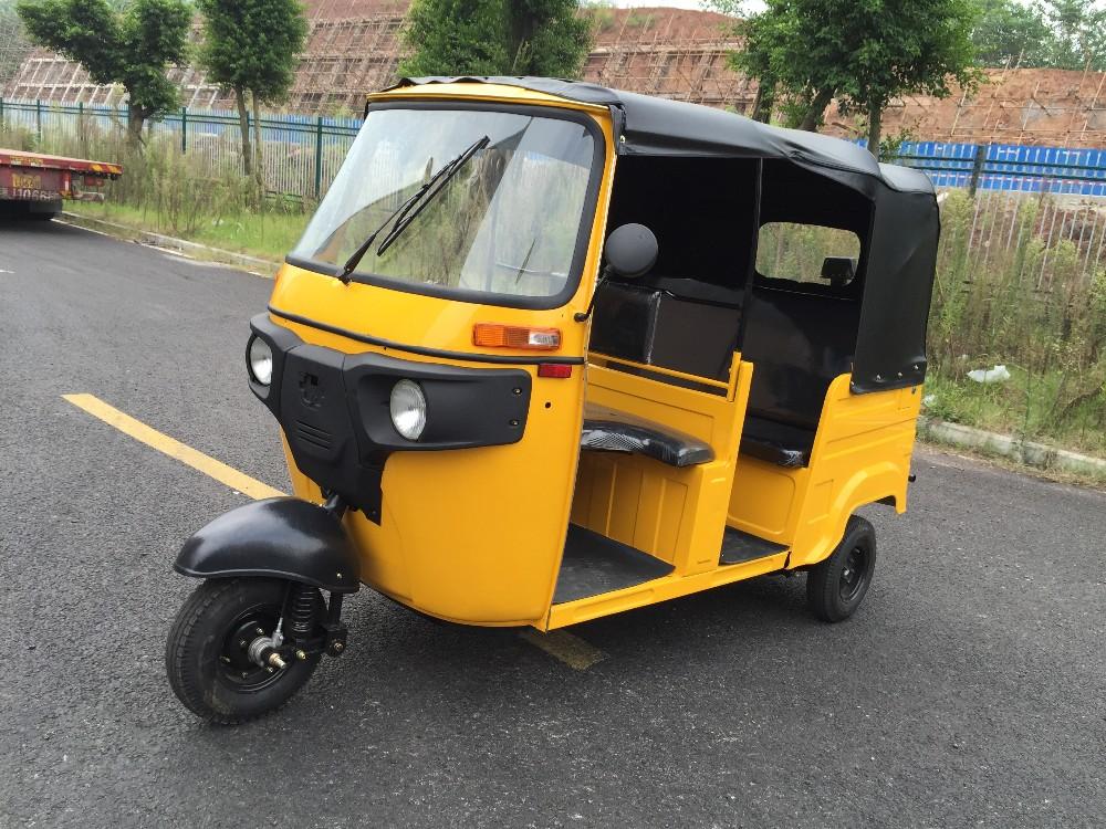 China Factory 3 Wheeler Passenger Tricycle Price Stock Rickshaw Tuk Tuk for Sale