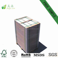 shiny cardboard stiffness gray color paperboard/long and short grain