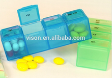 Four compartment Pill Box Set /Mini Pill Box/One Day Pill Box