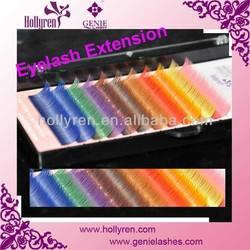 AAAA Fashion Rainbow Colorful Mink Fake Eyelash Extensions