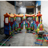 Enjoyble kids equipment amusements rides electric train for sale