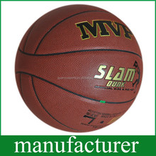 Imported leather Durable PU Soft Touch size7 Basketball Popular Absorb Sweat Leather Customised Ball