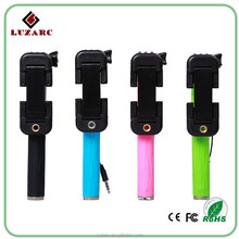 New Items for 2015 market wired mini collapsible selfie stick