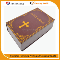 Factory price high quality fast production Bible book printing