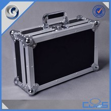 MLD-TC139 personalized high quality functional black aluminum box tool case suitcase