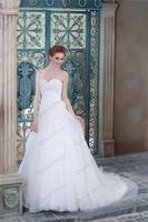 Plus Size Bridal Gown Ball Gown Beaded Sweetheart Neckline Zip Back Alibaba Real Samples Vestido De Noivas Wedding Dresses China