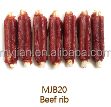 dog treats beef rib for Dog Food dog snack