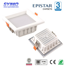 20W 1600Lm quick delivery 3 years warranty led downlight square