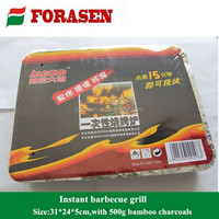 High quality one time use bbq grill