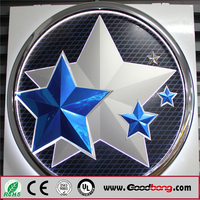 Attractive backlit car logo signs/led car logo light/car logo and their name