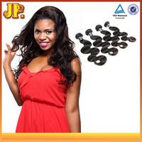JP Hair Hair Extension Type And Human Material Peruvian Hair No Tangle No Shed
