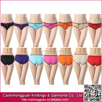 Hot Selling Factory Price Basic Style Underwear For Young Lady Girls