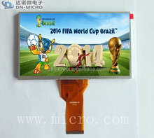 7 TFT lcd panel screen AT070TN92 / 7 inch lcd advertising screen / 7 inch 800x480 capacitive screen display