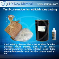 liquid RTV silicone rubber for artificial stone, cement, gypsum casting molding