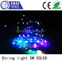 Design For Festival High Brightness Waterproof Copper Wire LED Play Light String In China led ball string light