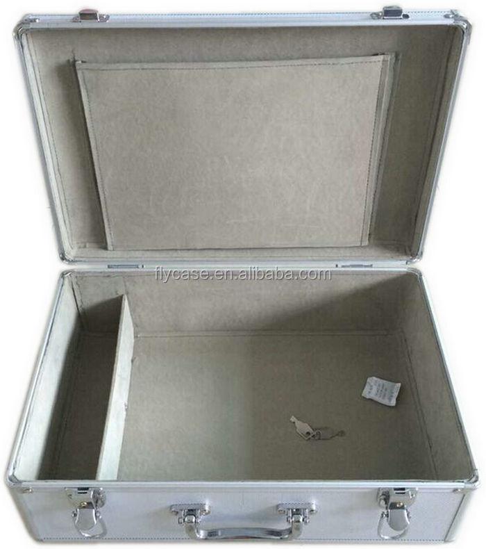 Arco de alumínio Caso Para 6 pcs Violino, casos de alumínio Viola ou Violoncelo