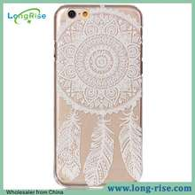 Fancy Embossed Dream Catcher Pattern Hard Case Back Cover for iPhone 6S