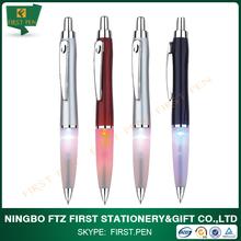Lowest Price Led Light Ball Pen For Gift