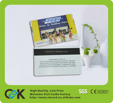 custom design!top quality pvc magnetic card/id card in promotion!sample free!