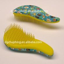 2015 hot selling mens plastic hair brushes ,detangling hair brush,brush ball hair