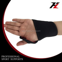 Highloong WRS9011 Leisure Neoprene Black Fitted Wrist Brace Support
