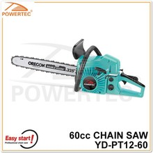 POWERTEC 52cc 58cc 60cc 62cc 2-stroke gasoline chain saw