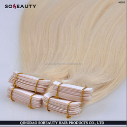 Brazilian hair remy wholesale glue for tape hair