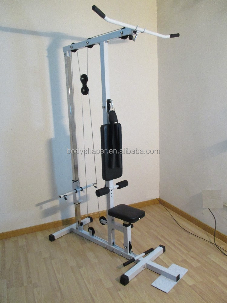 Quality lat machine fitness equpiment weight bench home gym
