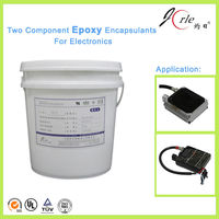 Jorle graphite electronic epoxy glue for bonding ceramics