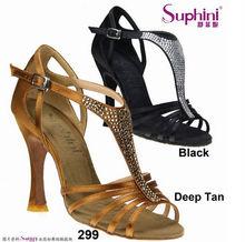 Las mujeres elegantes zapatos de noche sandalias de baile latino 299