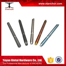 High quality low price fastener YZP/BZP/HDG chemical anchor stud,Chemical Anchor Stud Suppliers