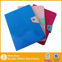PU leather For iPad Air Case ,tablet case with stand