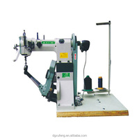double needle leather shoe sole lockstitch sewing machine prices