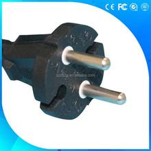 2 pin D02 European standard VDE power cord