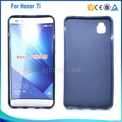 New arrival soft gel tpu back cover case for huawei honor 7i, for huawei honor 7i case