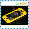 aluminum waterproof case for iphone4/4s with lanyard