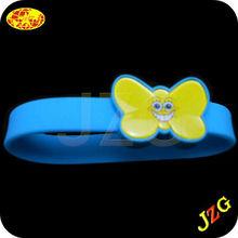 Party decoration led silicone bracelet for promotion glow in the dark cheap custom silicone bracelet luminous bracelet