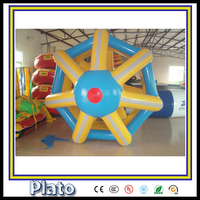 New design funny inflatable water roller/ inflatable cone shape roller /inflatable walking roller for sale