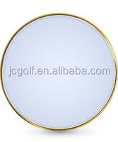 magnet metal blank golf ball marker for golf cap clip / glove / divot tool
