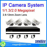 2015 New ip camera system dome camera plus 4 ch NVR,cctv-camera-taiwan,solar power ip camera