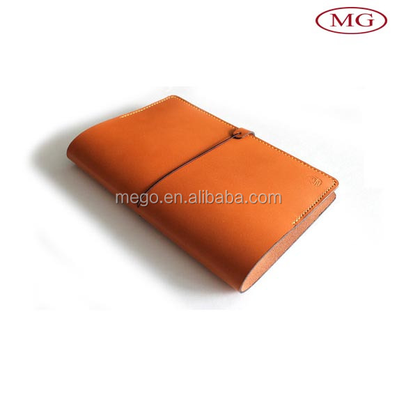 Notebook style leather flip case for universal tablet, leather tablet case with card holder
