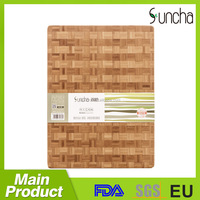 High Quality Bamboo Thick Chopping Board, bamboo switch board cutting machine, Bambu Cutting Board with end grain structure