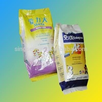 plastic packaging bag for wheat flour with factory supply high quality